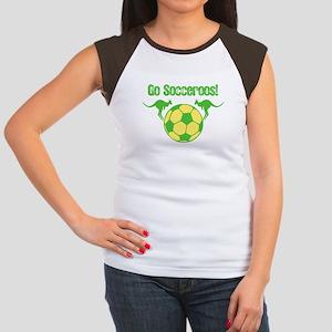 Australia Soccer Team Women's Cap Sleeve T-Shirt