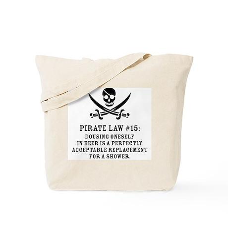 Pirate Law #15 Tote Bag
