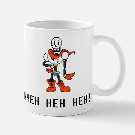 Papyrus Nyeh Heh Heh - Blk Mugs