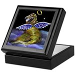 Golden Angel Tile Jewelry Box