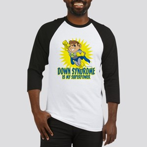 Down Syndrome Is My Superpower Baseball Jersey