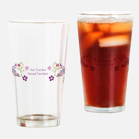Cute Add Drinking Glass