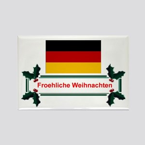 German Froehliche... Rectangle Magnet