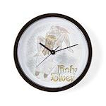 Holy Diver Wall Clock
