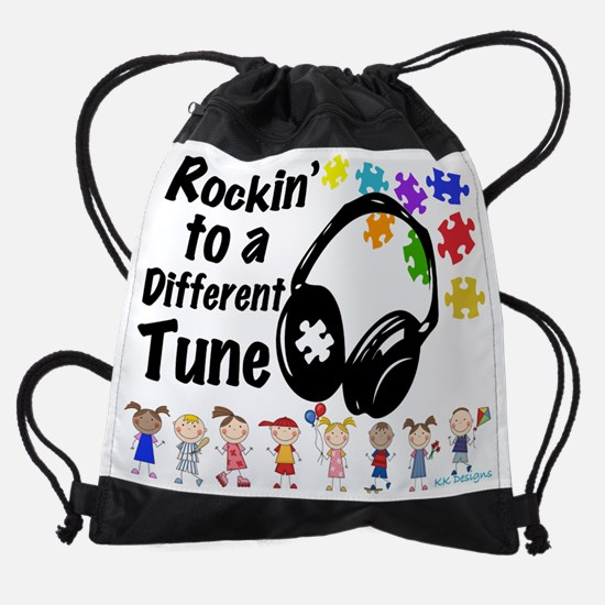 Rockin to a Different Tune Drawstring Bag