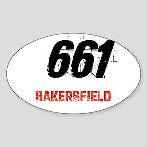 661 Oval Sticker