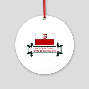 Wesolych Swiat Keepsaske Ornament