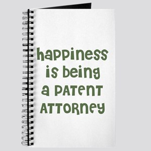 Happiness is being a PATENT A Journal