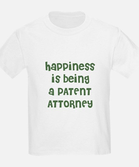 Happiness is being a PATENT A Kids T-Shirt