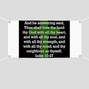 Luke 10:27 Banner