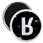 "Moral Courage Black 2.25"" Magnet (10 pack)"