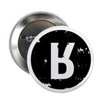 "Moral Courage Black 2.25"" Button (10 pack)"