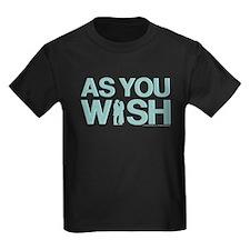 As You Wish Princess Bride Kids T-Shirt