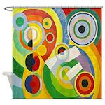 Robert Delaunay Cubist Shower Curtain