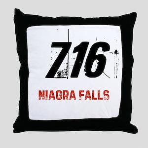 716 Throw Pillow