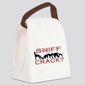 Sniff Crack Canvas Lunch Bag