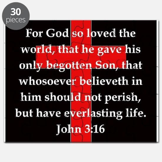 John 3-16 Puzzle