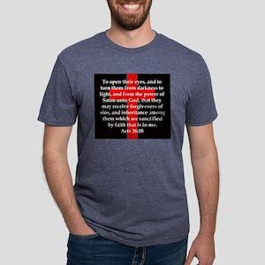 Acts 26-18 Mens Tri-blend T-Shirt