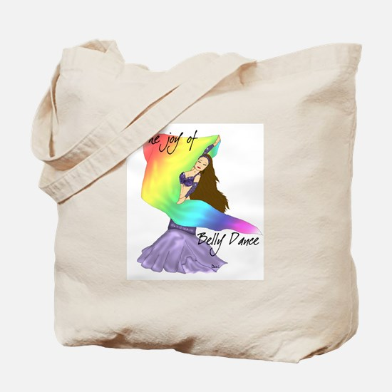 The Joy of Belly Dance Tote Bag