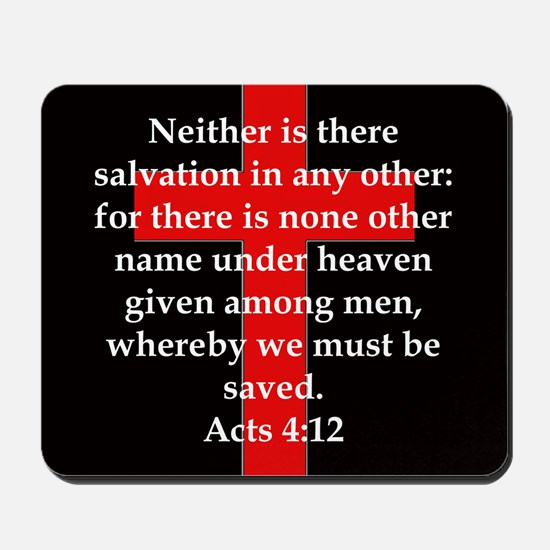 Acts 4-12 Mousepad