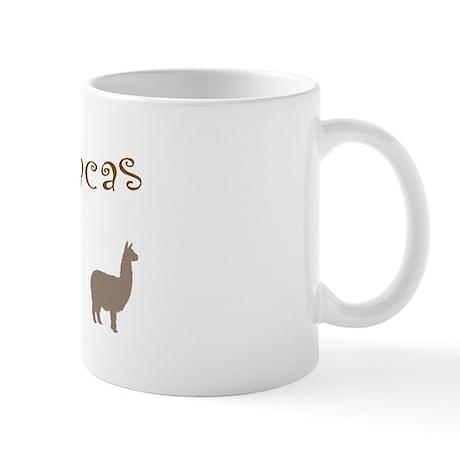 i love alpacas multi copy Mugs