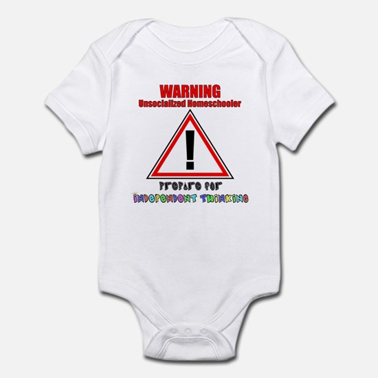 Rainbow Unsocialized Homescho Infant Bodysuit