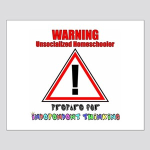 Rainbow Unsocialized Homescho Small Poster