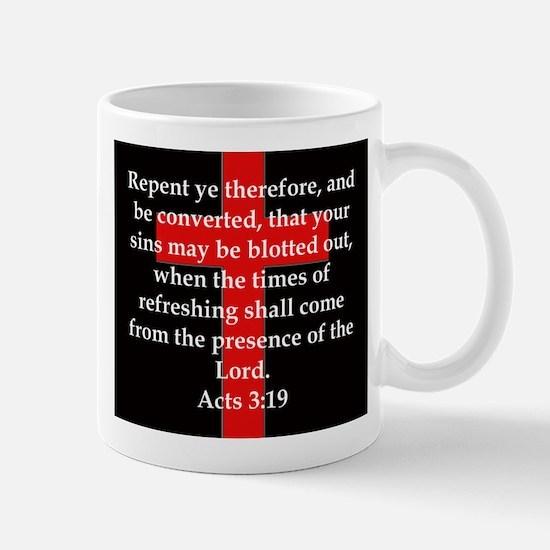 Acts 3-19 Mug