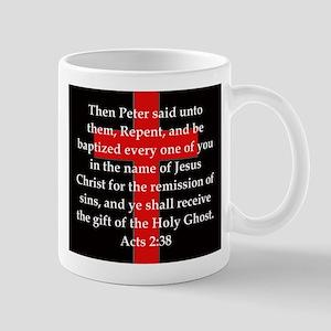 Acts 2-38 11 oz Ceramic Mug
