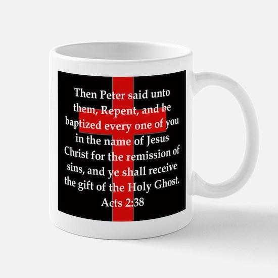 Acts 2-38 Mug