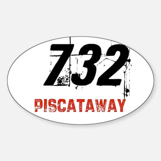 Area Code Stickers CafePress - 732 area code