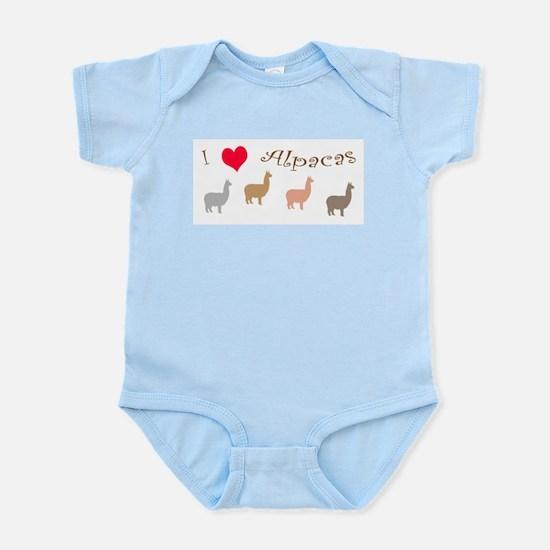 i love alpacas multi copy Body Suit