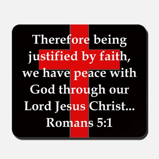 Romans 5-1 Mousepad