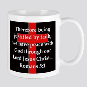Romans 5-1 11 oz Ceramic Mug