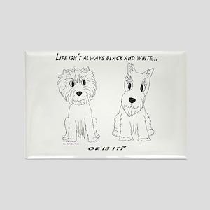 Credible Critters-Bl & White Westie & Scot