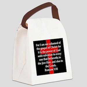 Romans 1-16 Canvas Lunch Bag