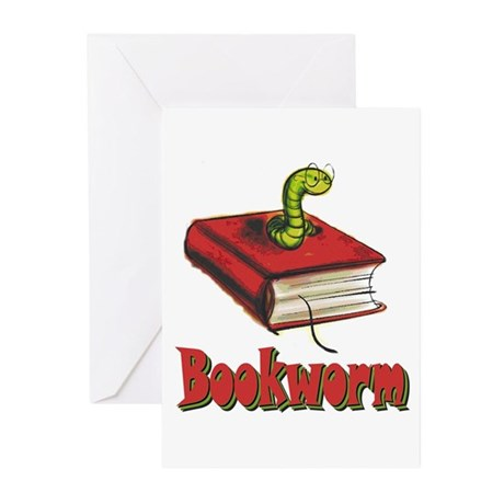 bookworm Greeting Cards (Pk of 10)