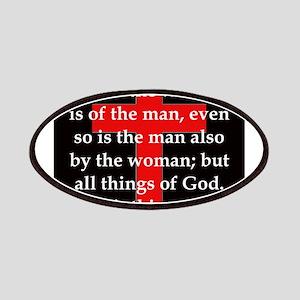 1 Corinthians 11-12 Patch