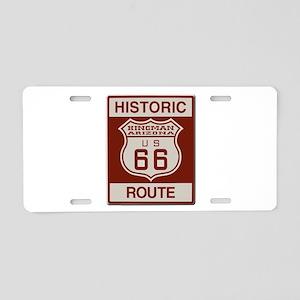 Kingman Route 66 Aluminum License Plate
