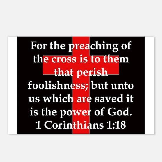 1 Corinthians 1-18 Postcards (Package of 8)