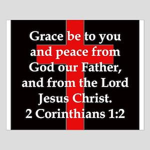 2 Corinthians 1-2 Small Poster