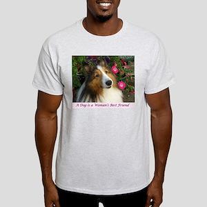 A Dog is a Woman's Best Friend T-Shirt