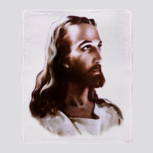 Jesus Throw Blanket