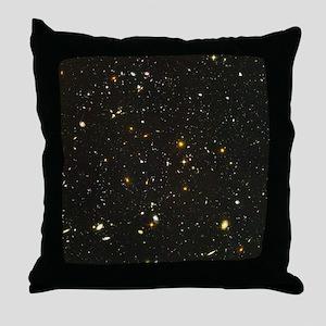 10,000 Galaxies Universe Core Throw Pillow