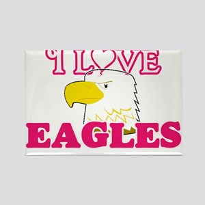 I Love Eagles Magnets