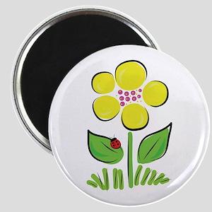Daisy Bug Magnet