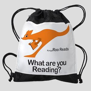 KangaRoo Reads Drawstring Bag