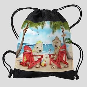 menor Loving Key West signed Drawstring Bag