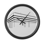 BRUTAL Large Wall Clock