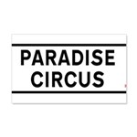 Paradise Circus Sign Wall Sticker